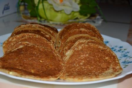 Savory Healthy Sweet Corn Pancake – Purely Doreen
